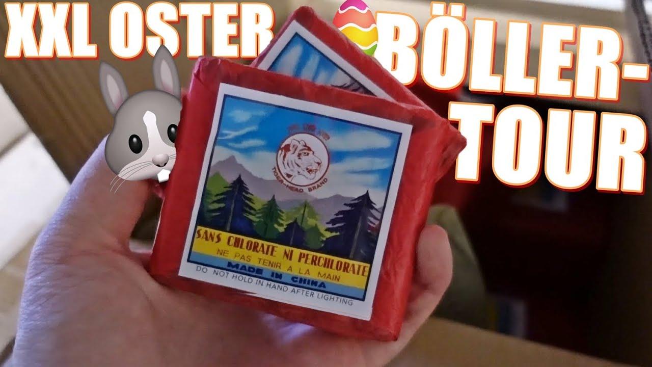 XXL Oster BÖLLERTOUR inkl. 150€ GEWINNSPIEL! | PyroExtrem & Pyrographics