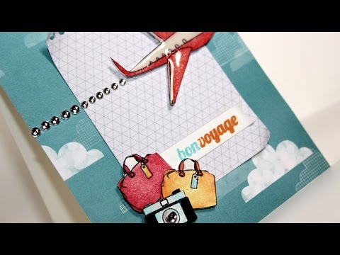 Bon Voyage - travel card