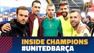 MANCHESTER UNITED 0-1 BARÇA | Inside Champions