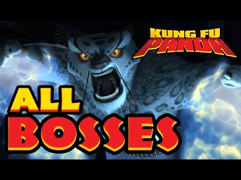 Download Kung Fu Panda All Bosses | Boss Fights  (X360, PS3, PS2, Wii)