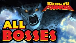 Kung Fu Panda All Bosses | Final Boss (X360, PS3, PS2, Wii)