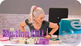 Fitness Workout im Büro: Jamie Powers zeigt wie! | Die Martina Hill Show | SAT.1 TV