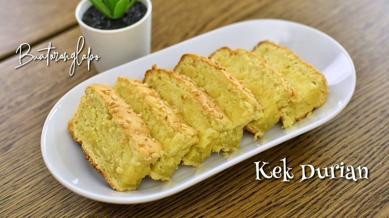 The Amazing Durian Cake Recipe Cup And Gram Measurements