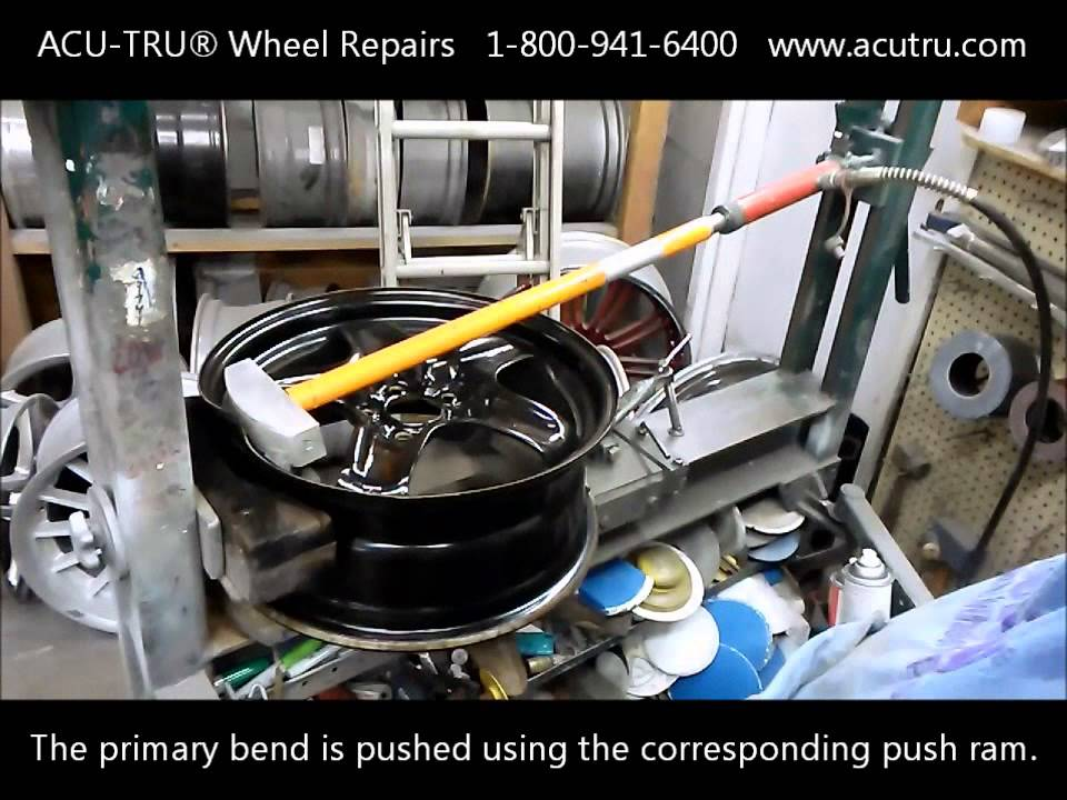 Motorcycle Wheel Straightening