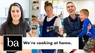 The Bon Appétit Test Kitchen is Cooking at Home | Bon Appétit