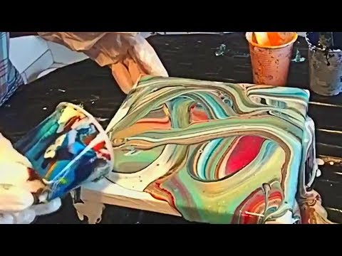 CREATIVE Satisfying Acrylic Pouring Art Compilation Acrylic Painting /Fluid Acrylic