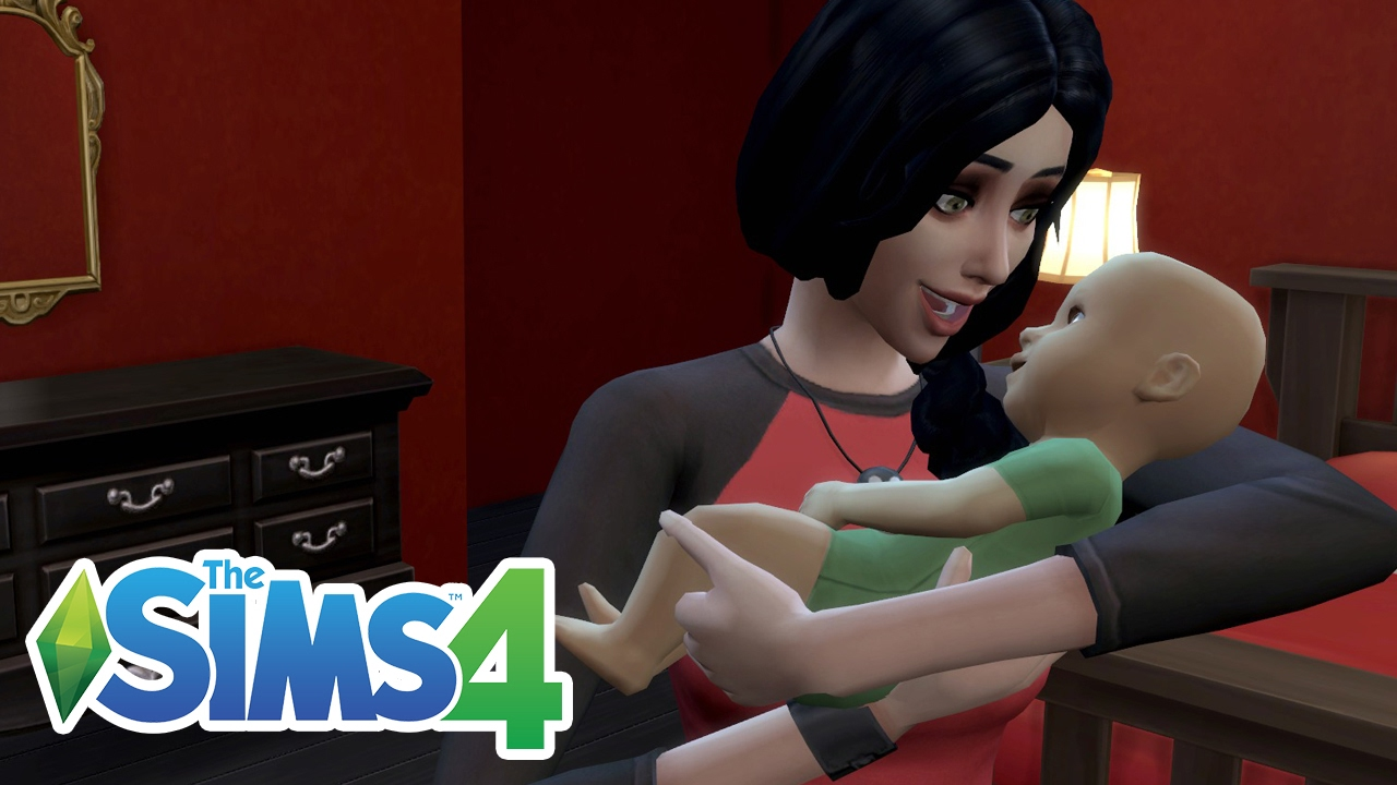 GIVING BIRTH! MEET MY BABY! | The Sims 4 Lets Play! Ep.17 ...