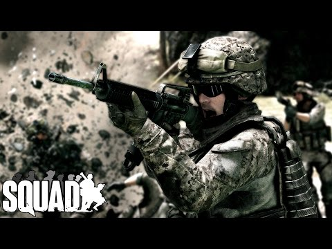 Squad v3.7 ► Squad Leading USA to Victory (Full Round)