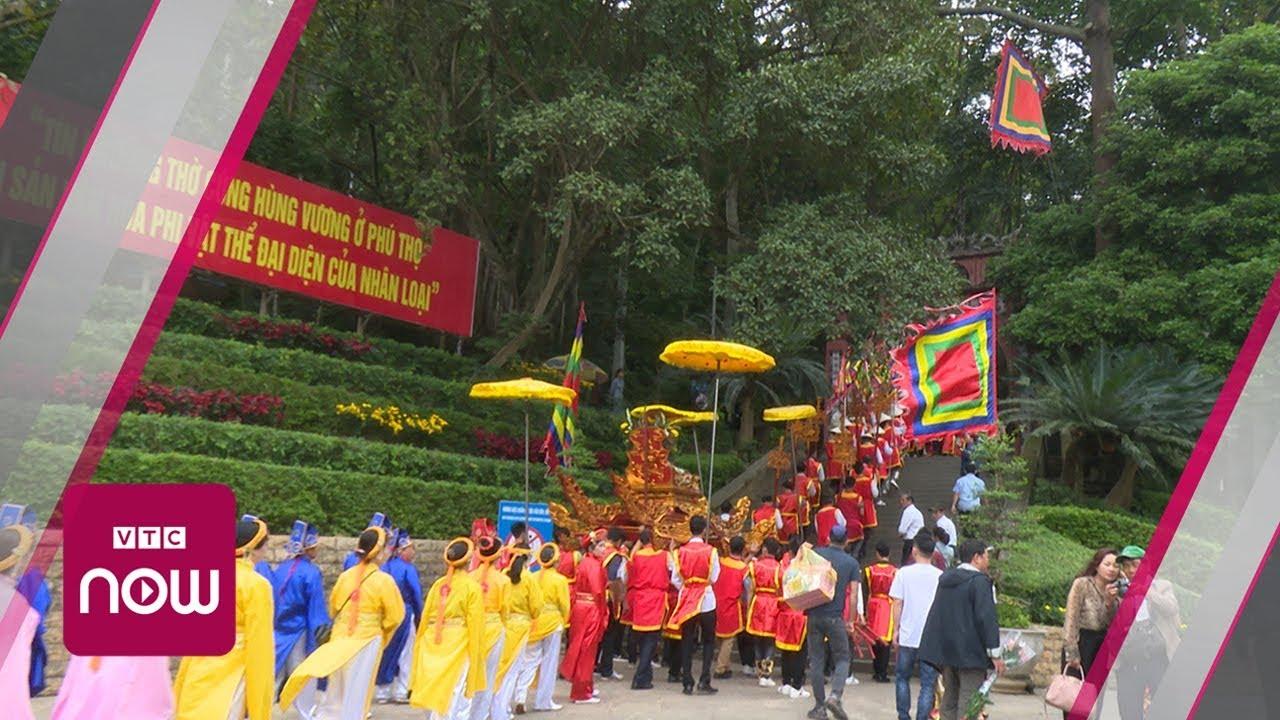 Lễ dâng hương tưởng niệm các Vua Hùng năm 2019 | VTC Now