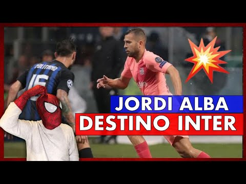 OFERTA FIRME🥶 EL INTER está muy INTERESADO en JORDI ALBA🧐 MI OPINIÓN