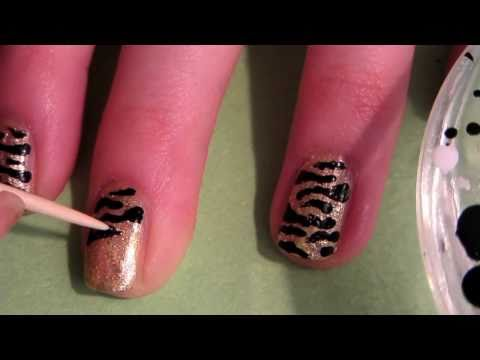 Tutorial: Tiger Nails