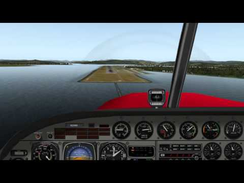 Landing at Southwest Oregon Regional Airport, RWY 04