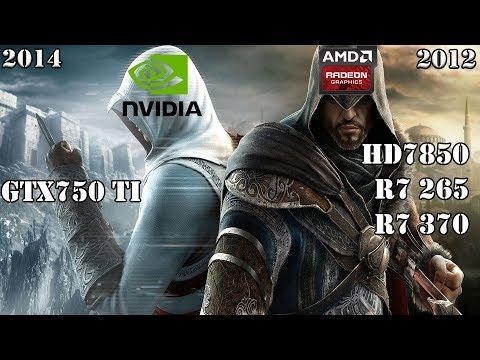 Что лучше в бюджетном сегменте Nvidia или AMD?! Тест GTX750 Ti vs Radeon HD7850