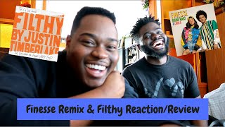 Bruno Mars & Cardi B - Finesse Remix/Justin Timberlake - Filthy (Reaction/Review)