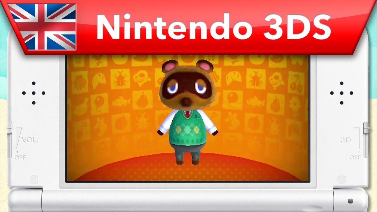 animal crossing happy home designer meet tom nook nintendo 3ds animal crossing happy home designer meet tom nook nintendo 3ds youtube