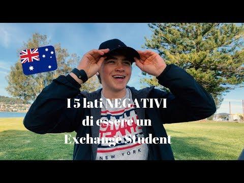 I 5 lati NEGATIVI di essere un Exchange Student! (AUSTRALIA)✈️📚
