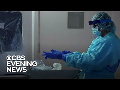 NYC hospitals near capacity as virus cases climb