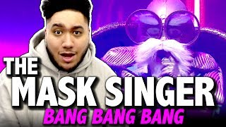 Video Bang Bang Bang - หน้ากากเต่า | BIGBANG Cover | The Mask Singer 2 REACTION!!! download MP3, 3GP, MP4, WEBM, AVI, FLV Januari 2018