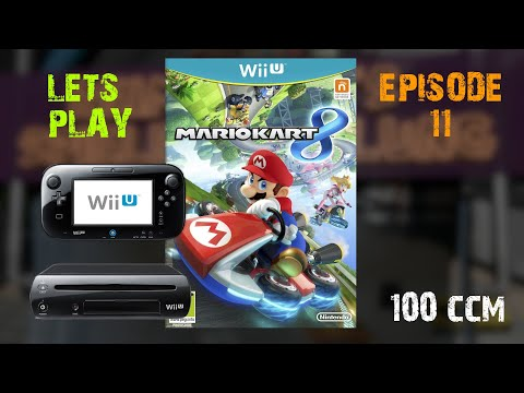 Lets Play Ep. 11 : Mario Kart 8 Stern Cup 100CCM