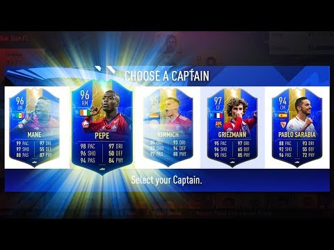HIGHEST RATED TOTS FUT DRAFT CHALLENGE! - FIFA 19 Ultimate Team