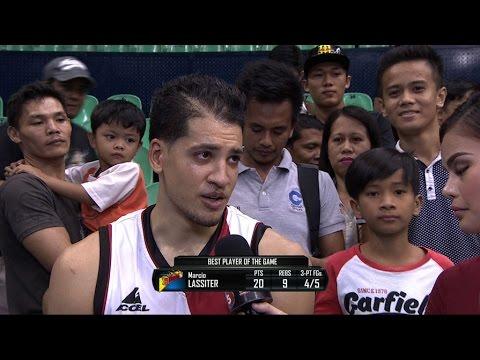 Best Player: Marcio Lassiter | Philippine Cup 2015-2016