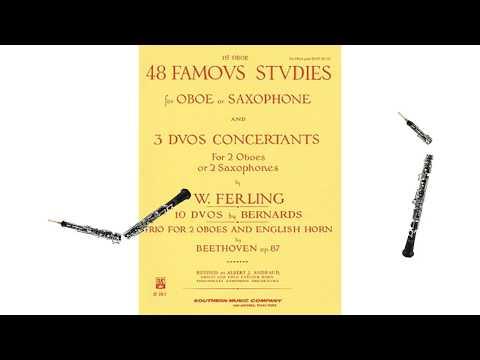 Ferling: Duo Concertant No. 3, Andante