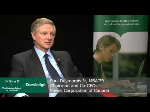 The Big Interview: Paul Desmarais Jr, Co-CEO, Power Corporation of Canada