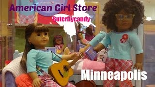 American Girl Store | Minneapolis - Mall of America | Shopping for Dolls | Grace Girl of the Year