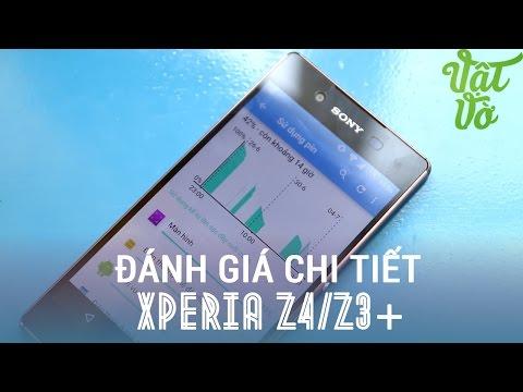 Vật Vờ - Đánh giá chi tiết Sony Xperia Z3+/Z4: nâng cấp nhẹ so với Xperia Z3
