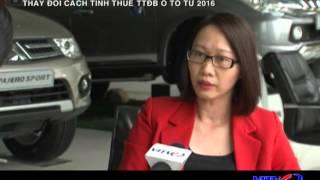 VITV - Tài chính thuế - Thay đổi cách tính thuế TTĐB ô tô từ 2016