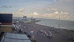 Hotel Zeezicht Vlieland: zicht op de Veerboot
