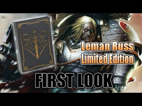 Leman Russ Primarch Book Limited Edition Unboxing
