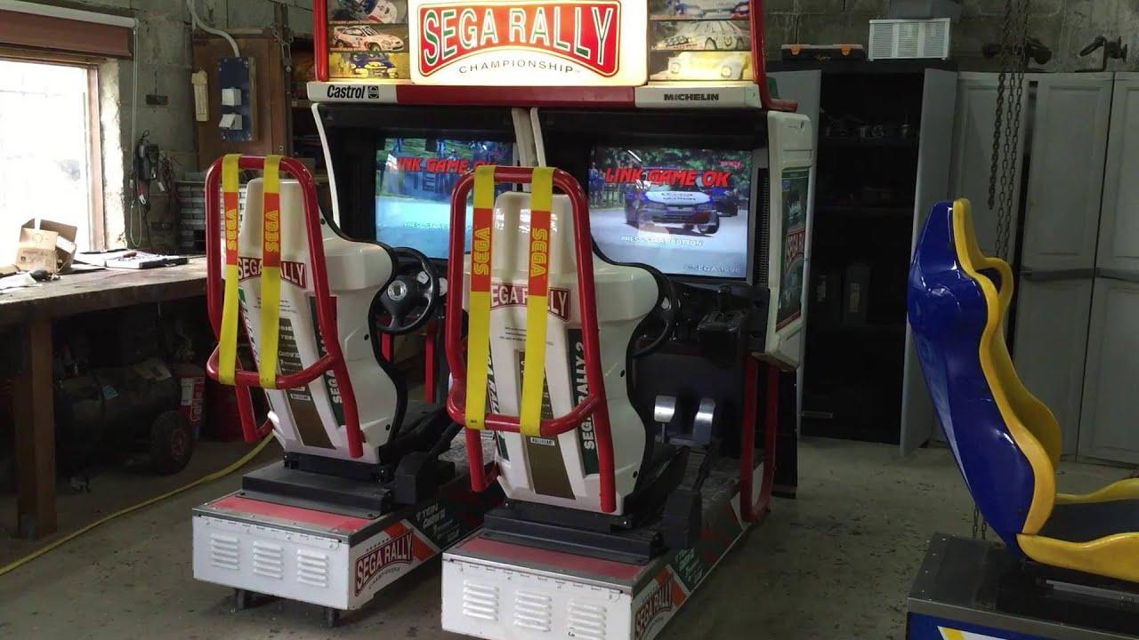 borne arcade sega rally 2