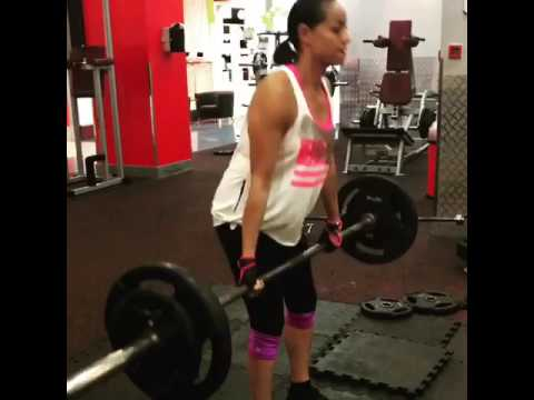 PT Diaries - Deadlifts with my client Donia