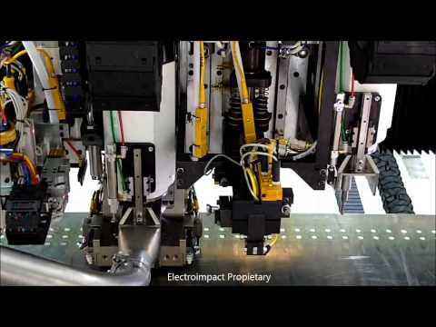 E6000 Automated Fastening Machine For Wing Skins