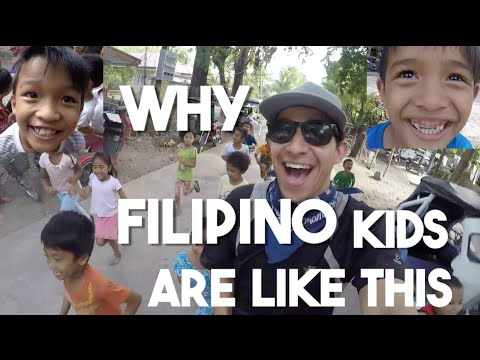 Why Filipino Kids Are Like This (Pangasinan, Philippines)