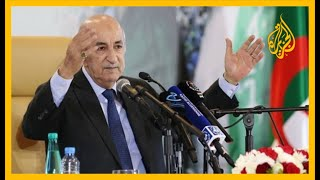🇩🇿 الرئيس الجزائري: القضية الفلسطينية مقدسة عندنا ولن نهرول نحو التطبيع.. ما مغزى التوقيت؟