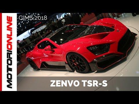 Zenvo TSR-S I LIVE @ Salone di Ginevra 2018