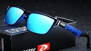DUBERY Brand Driver Shades Design Polarized Sunglasses For Men