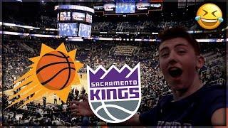 THE WORST NBA GAME! SUNS vs KINGS 😂 Arizona Part 2 Vlog (Villanova, NickEh30, In-N-Out)