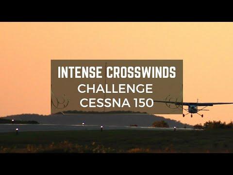 Cessna 150 vs CYOS Crosswinds