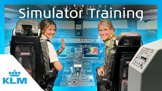 KLM Intern on a Mission - Simulator Training ✈️