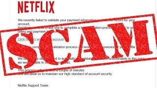 Netflix Scam :( thumbnail