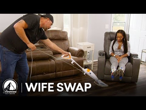 'The Kitchen is the Woman's Place'?  🤣 Wife Swap Highlight
