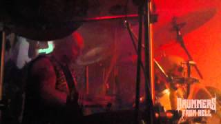 CRYSTAL VIPER@Night Of The Sin-Live at Covenant XX 9.12.2012 (Drum Cam)