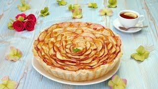 Как приготовить яблочный пирог с пудингом - Рецепты от Со Вкусом