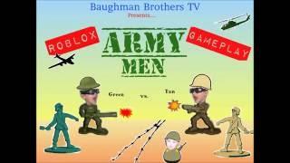 Army Men Green vs Tan / Roblox / Gameplay / Kids