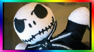 DIY Nightmare Before Christmas Sock Doll - Jack