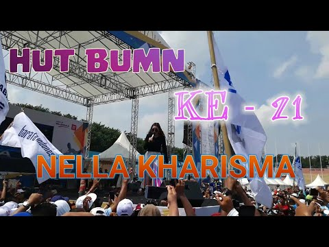 🔥BEGINILAH PENAMPILAN NELLA KHARISMA LIVE (ULTAH BUMN KE 21) Gor Sidoarjo 2019