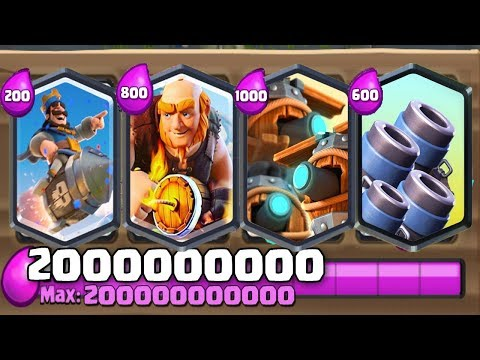 "omg"" CLASH ROYALE PRIVATE SERVER WITH AWESOME CARDS"